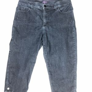 Not Your Daughters Jeans - Capri - Jewled